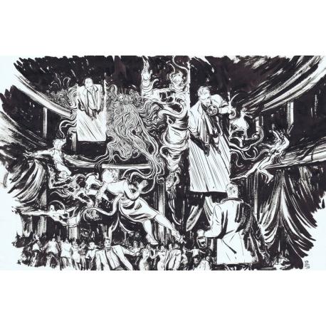 Constantine The Hellblazer  ,   4 str 10-11   Double Splash