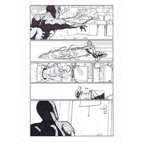 Okładka Swamp Thing, Enrique Breccia, Szkic