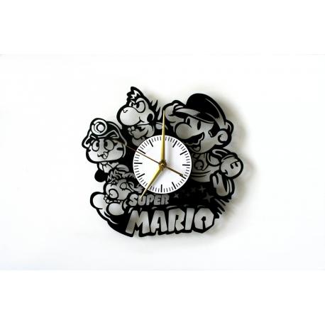 SUPER MARIO BROS 1  - Zegar ścienny