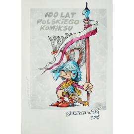 Jacek  Skrzydlewski - oryginalny rysunek  5