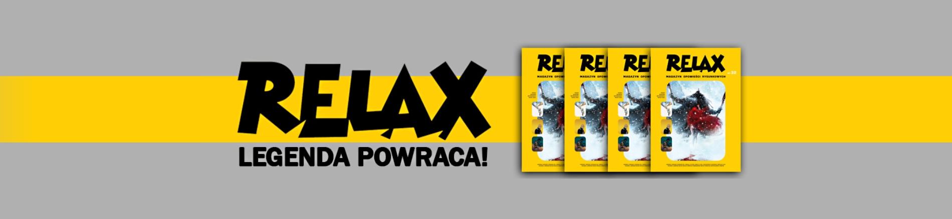 Relax - magazyn komiksowy powraca 2020