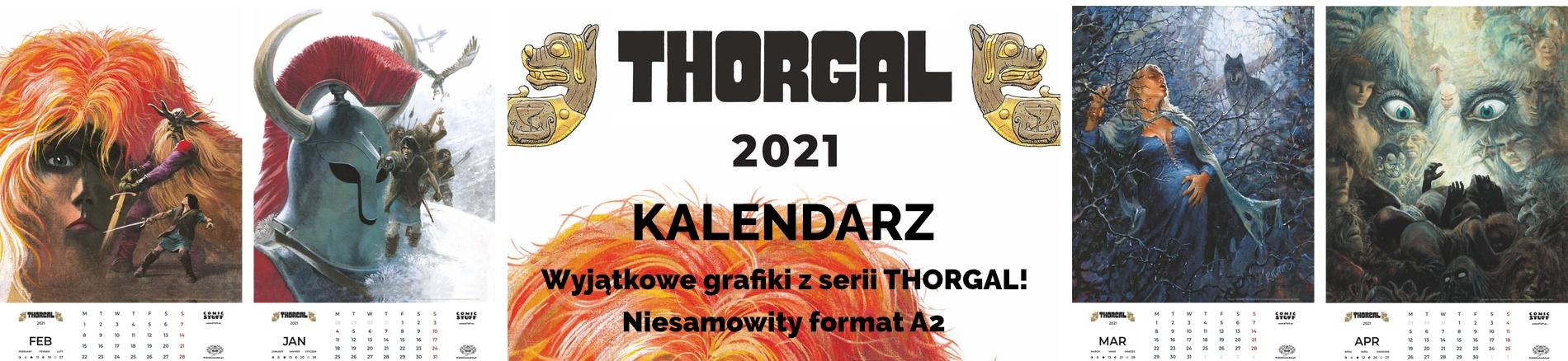comicSTUFF THORGAL Kalendarz 2021